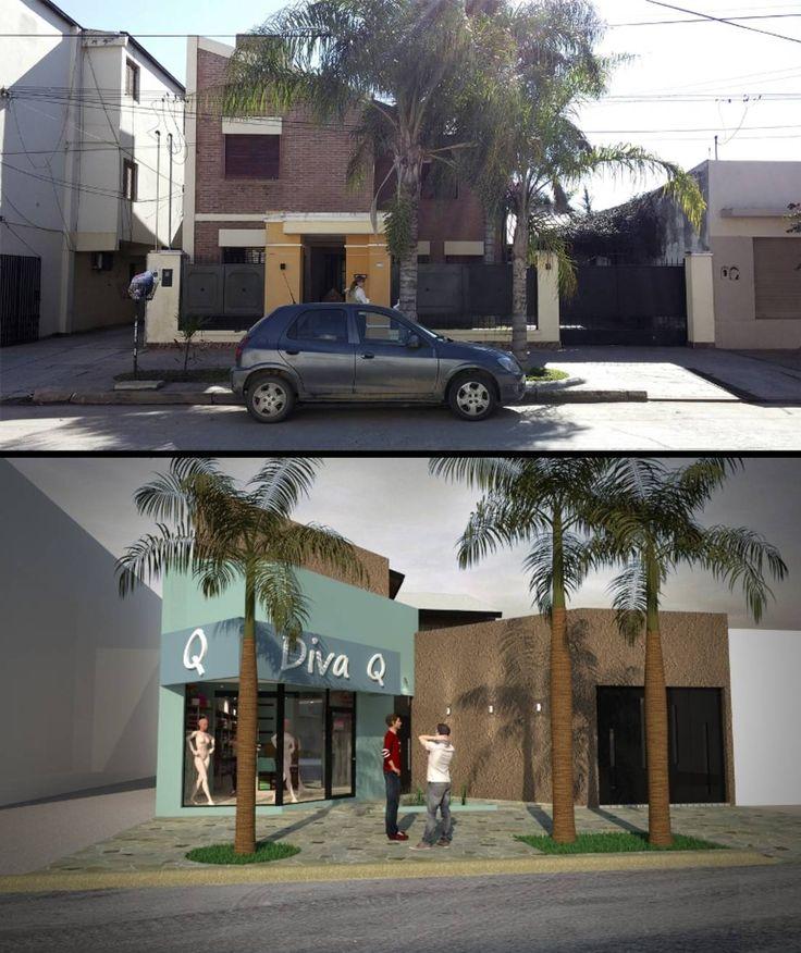 Encontrá las mejores ideas e inspiración para el hogar. FACHADA - AMPLIACION B|E por Group Arquitectura Online | homify