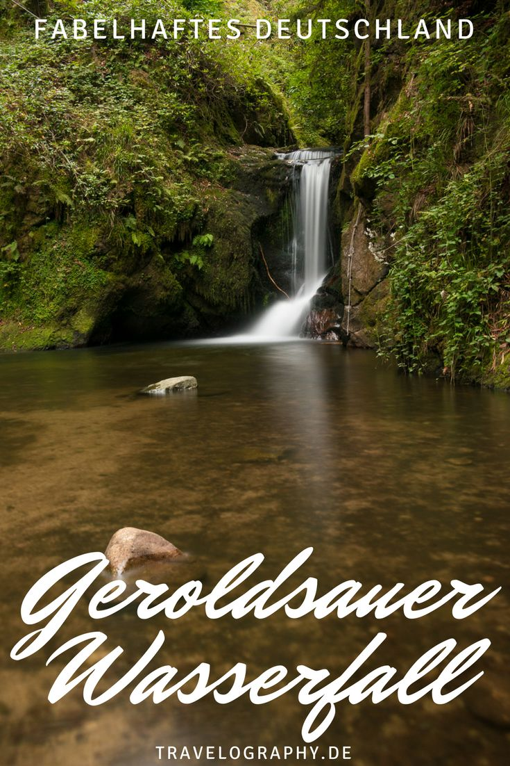 Geroldsauer Wasserfall: Fotostopp im Schwarzwald