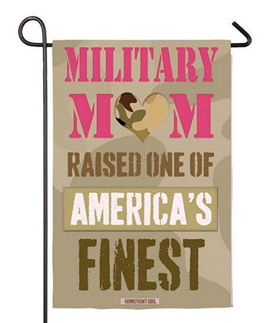 'Military Mom' Garden Flag