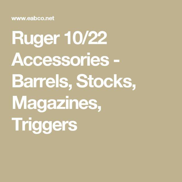 Ruger 10/22 Accessories - Barrels, Stocks, Magazines, Triggers