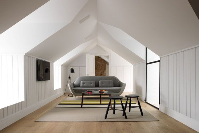 Stunning attic space