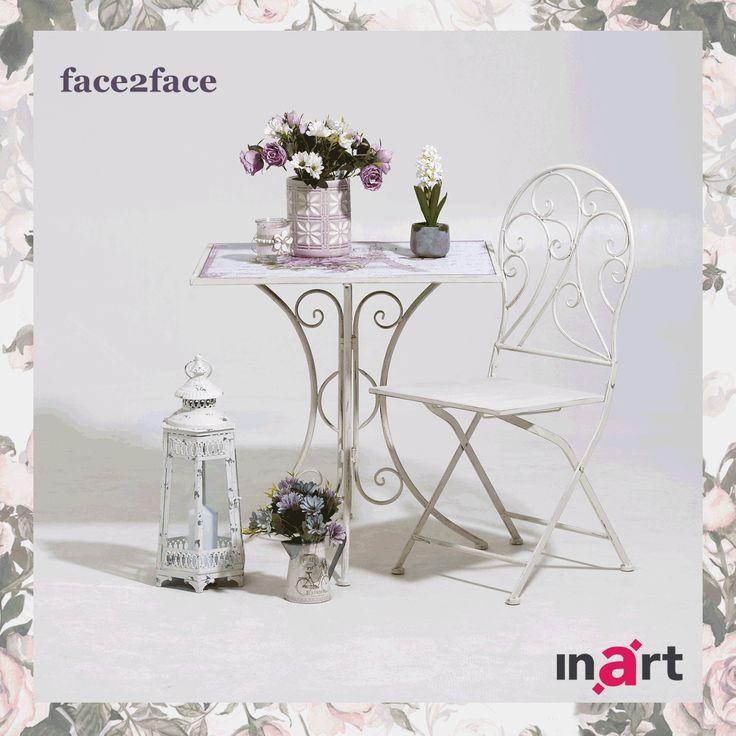 Ποιο από τα 2 ρομαντικά σετ για το μπαλκόνι ή τον κήπο σας αρέσει πιο πολύ; http://www.inart.com/en/furniture/outdoors/2-35880.html http://www.inart.com/en/furniture/outdoors/2-35878.html