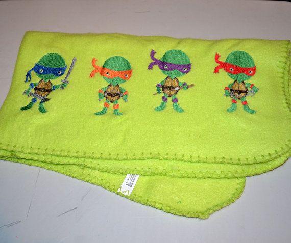 Teenage Mutant Ninja Turtles Baby Blanket
