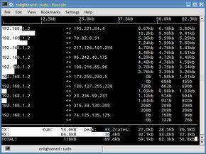 18 commands to monitor network bandwidth on Linux server