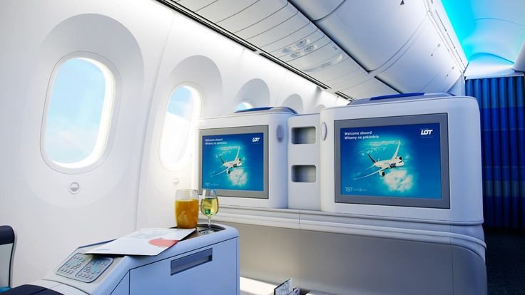 Dreamliner interior | Wnętrze Dreamlinera  Elite Club