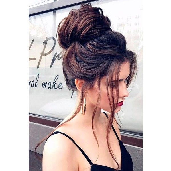 15 Fancy Prom Hairstyles for Long Hair | LoveHairStyles.com ❤ liked on Polyvore featuring beauty products, haircare and hair styling tools