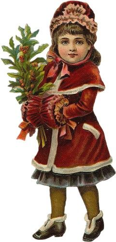 Victorian Christmas young girl                                                                                                                                                      More