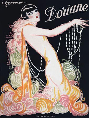 'Doriane' by Gesmar. Paris c.1926   http://www.vintagevenus.com.au/vintage/reprints/info/ENT352.htm