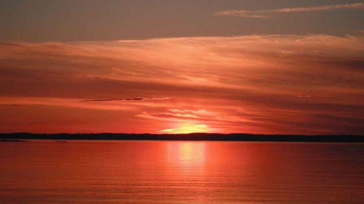 Le célèbre coucher de soleil qui apparaît sur la carte d'assurance-maladie du Québec a été photograp... - Photo Pixabay