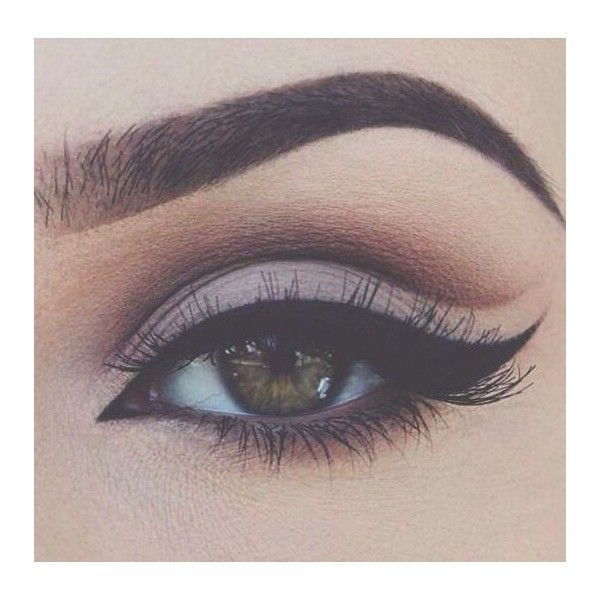 Pin by Ethel Davis on eye makeup | Pinterest | Cut Crease, Makeup and... ❤ liked on Polyvore featuring beauty products, makeup, eye makeup, eyes, beauty and winged eye makeup
