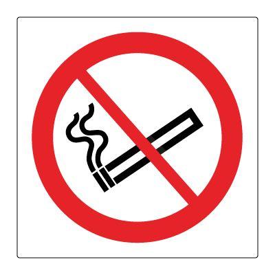 Røyking forbudt piktogram - Bestill Forbudsskilt her