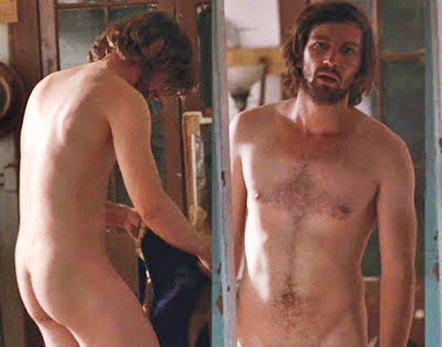 famous men in the nude