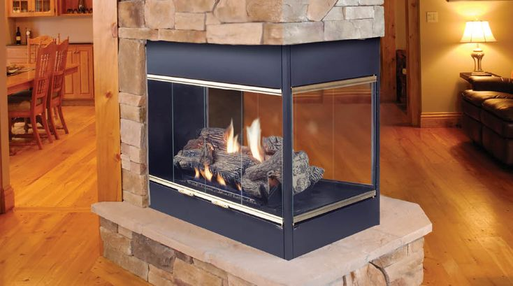 Clean Face 3 Sided Gas Fireplaces Home Design Ideas 54 Best 3 Sided Fireplace Images On Pinterest | Fire