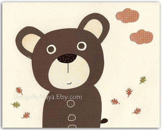 Nursery wall art print Baby boy room decor Baby by DesignByMaya, $17.00