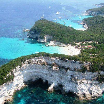 Antipaxos island,Greece Favorite beach in the world