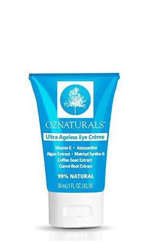 OZNaturals Eye Wrinkle Cream For Dark Circles & The ONLY Eye Moisturizing Cream That Contains Astaxanthin, Matrixyl Synthé'6, Caffeine, Coffee Extract & Carrot Root for Superior Anti Aging Results