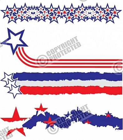 Free Samples Stars and Stripes Vector Images Download