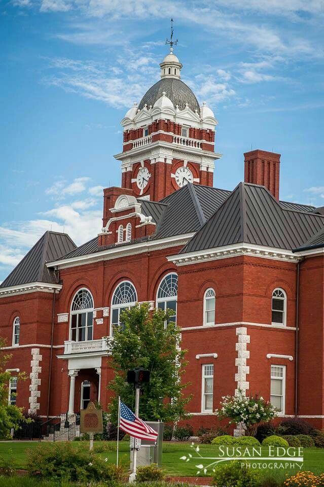 The Courthouse In My Hometown Forsyth GA