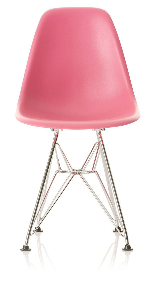 Modern pink desk chair