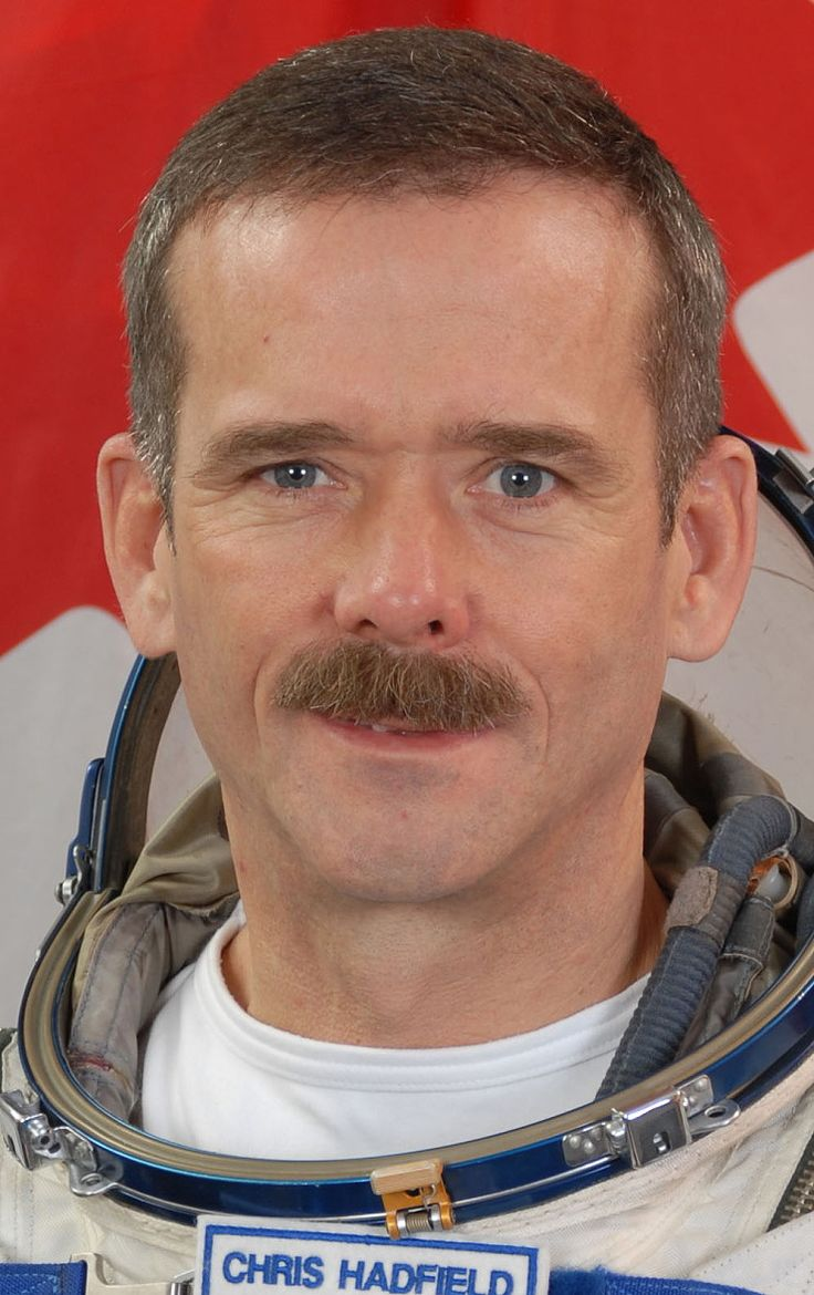 Canadian, Col. Chris Hadfield, commander of the ISS and all 'round super awesome guy