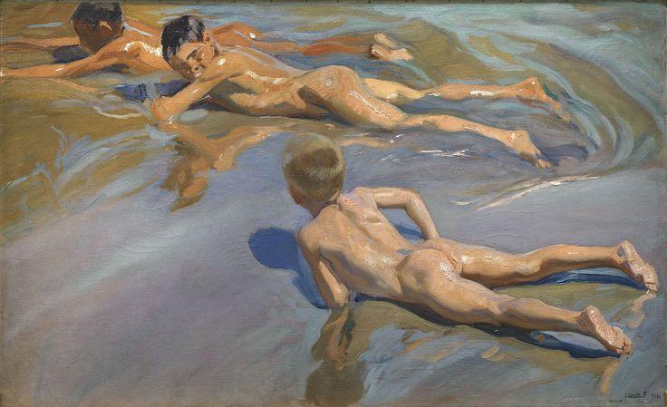 Joaquín Sorolla - Chicos en la playa - Museo del Prado