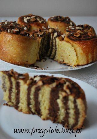 Aromatyczne ciasto orzechowe