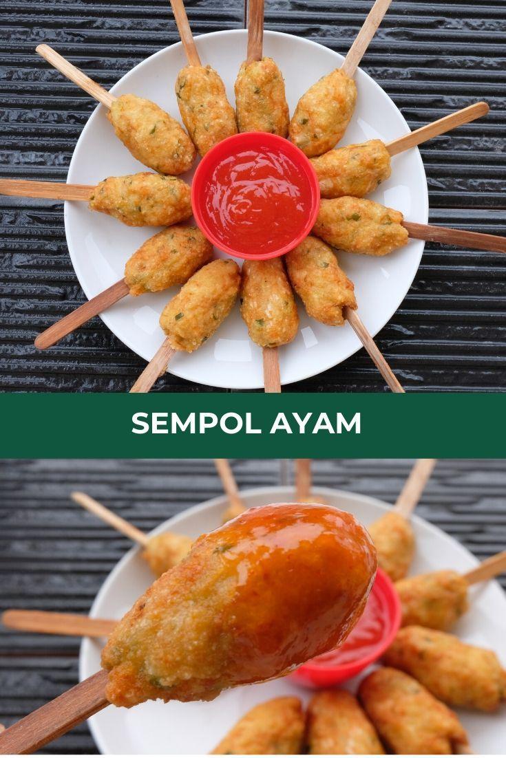Resep Sempol Ayam Khas Malang Makanan Ringan Sehat Ide Makanan Resep Masakan