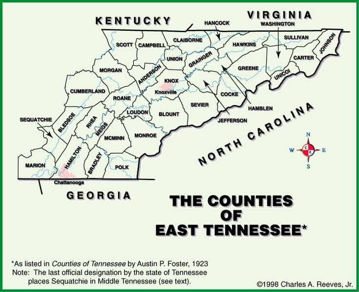 Best Tennessee Map Ideas On Pinterest Pigeon Forge - County map of east tennessee