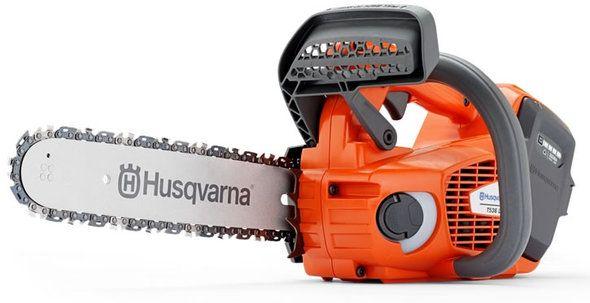 Husqvarna T536 Li XP Battery Top handle Chainsaw | Garden Europe - reddot design award 2013