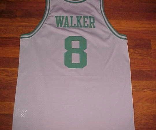 Antoine Walker 8 Boston Celtics 1963 NBA Nike Gray Swingman Throwback Jersey XL #Nike #BostonCeltics
