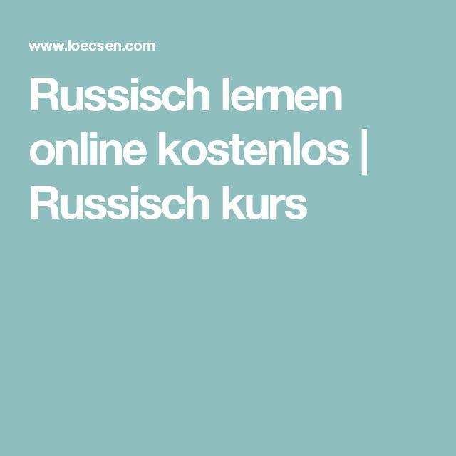 Russisch lernen online kostenlos | Russisch kurs