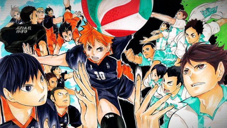 Haikyuu Anime Karasuno vs Aobajousai Volleyball Team 1920×1080