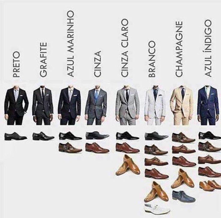 Especialmente para os noivos e também para os padrinhos: saibam como combinar o terno com os sapatos!  www.quemcasaquerdicas.com