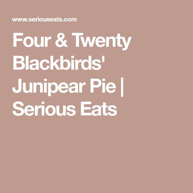 Junipear Pie von Four & Twenty Blackbirds