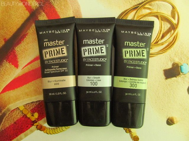 Reseña primers Master Prime Maybelline | Beauty Wonder