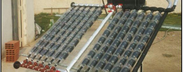 Colector solar social | La Bioguía