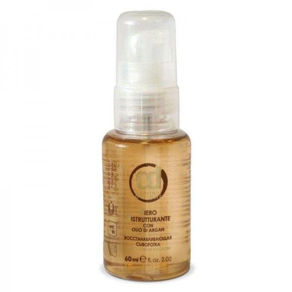 Восстанавливающая несмываемая сыворотка для волос с аргановым маслом предназначена для лечения и восстановления секущихся кончиков волос.Придает бриллиантовый блеск даже поврежденным волосам. 640