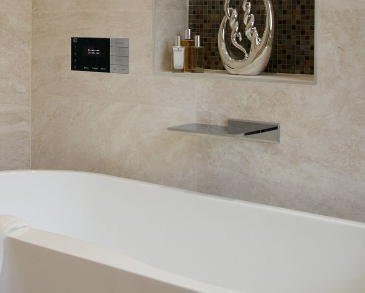 Have A Winning Morning Routine With The Affordable Systemline E100  Waterproof #radio   @Bathroom