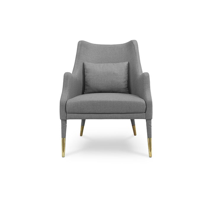 Merely mention the name Carver and you feel the weight of such an innovator's name. The combination of exotic material such as dark walnut wood and gold plated brass turns this armchair into a modern version of the 60's keen.  His upholstery in dyed blue leather and has a brass detailed at the end of their feet. A retro design armchair that will keep you in touch with your inner bohemian.