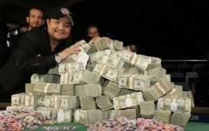 poker luck virus – ying and jerry yang - jerry yang wins lots of mirrions (8,250,000) in 2007 with perhaps the greatest wsop final table performance