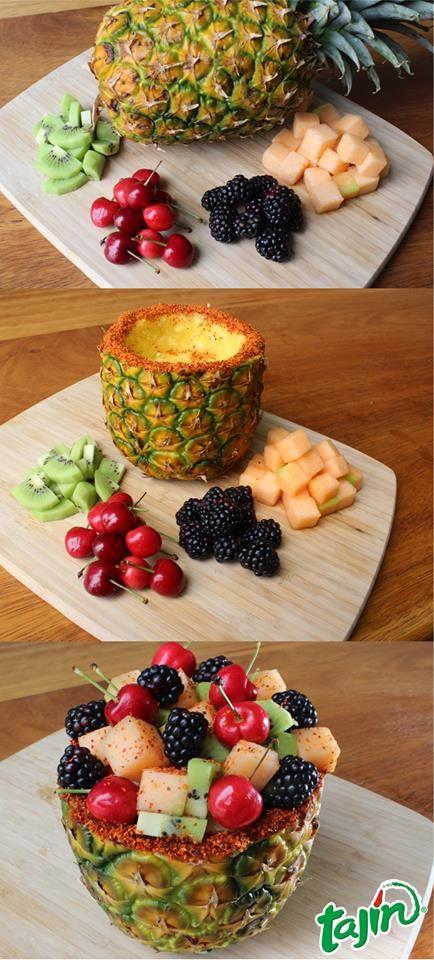 1,2,3 Creative Fruit // En tres paso una deliciosa botana