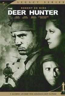 1978 Academy Award for Best Picture. Michael Cimino's film about the impact of the Vietnam War on three friends in a Pennsylvania steel town.  Some aspects of the film – particularly the Russian roulette motif – seem implausible, but at its best, the film is a convincing portrayal of a part of America and its history as well as a powerful story about the power of friendship and the horror of war.