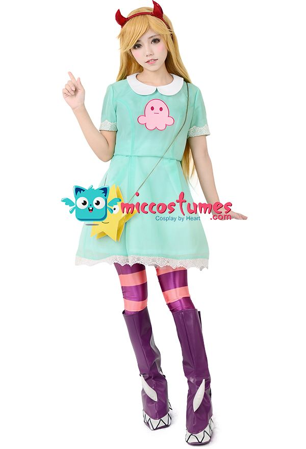 Star vs. the Forces of Evil Star Butterfly Cosplay Costume sales at miccostumes.com for cosplayers