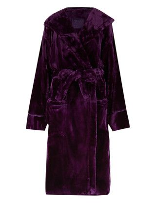 Hooded Luxury Dressing Gown Clothing