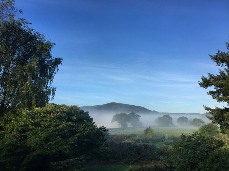 Misty morning - September 2016 Shropshire B&B