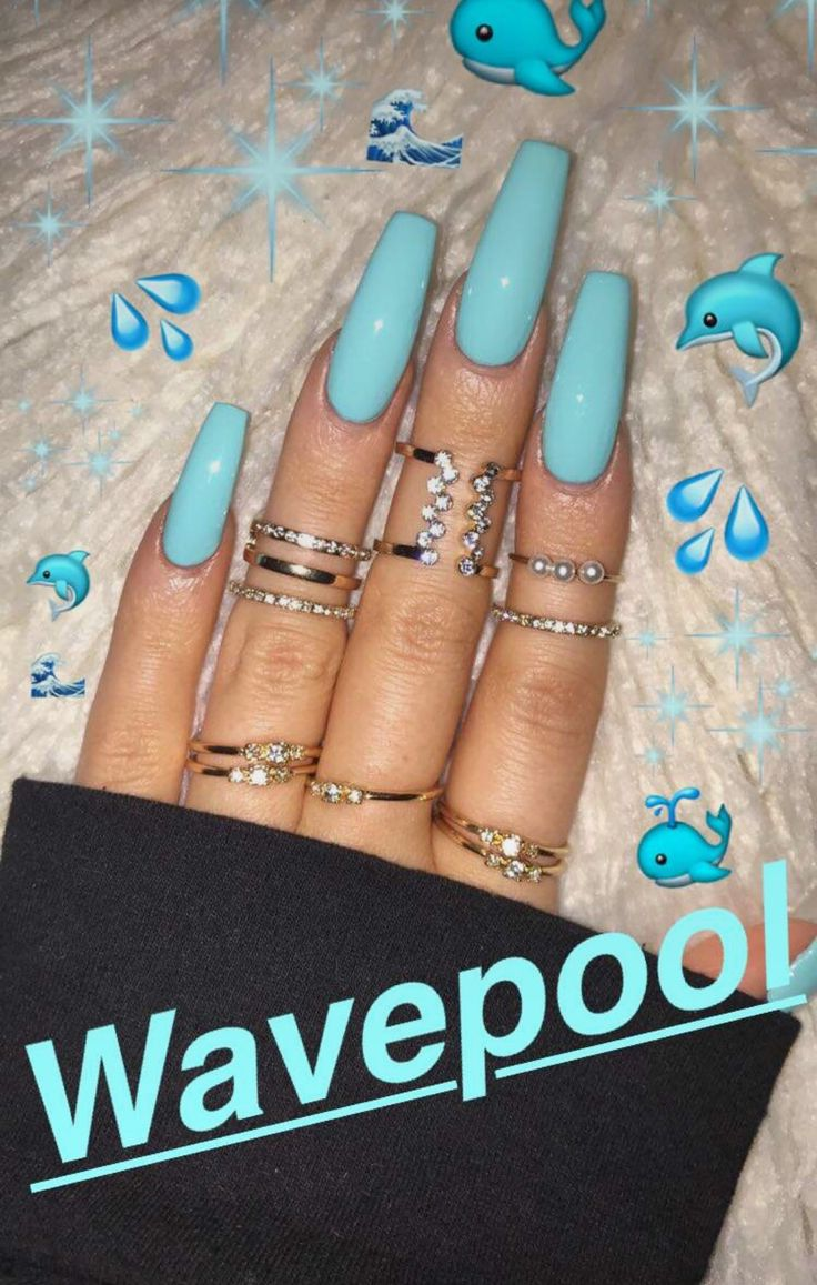 Best 20 Coffin Nails Ideas On Pinterest Acrylic Nails Coffin regarding The Brilliant acrylic nail designs 2017 coffin for your inspiration