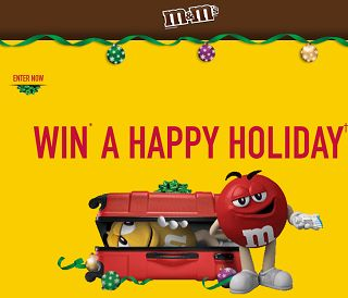 ENTER A PARTICIPATING UPC FOR A CHANCE TO WIN* A HAPPY HOLIDAY