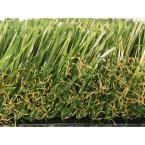 Greenline Supreme 2.5-90 Fescue Artificial Grass Synthetic Lawn Turf for Outdoor Landscape 7.5 ft. x Custom Length