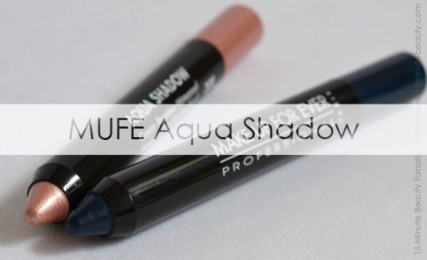 Make Up For Ever Aqua Shadow, this stuff is really easy to use, waterproof and gave me a 5 minute smokey eye!: Smokey Eye