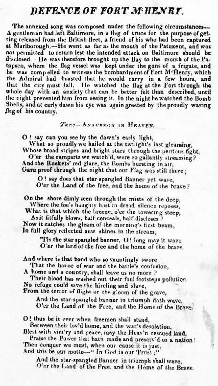#3DeMarzo #Efemérides #TalDíaComoHoy  1931: Estados Unidos adopta 'The Star-Spangled Banner' como su himno nacional.  The Star-Spangled Banner ('La bandera tachonada de estrellas') es el himno nacional de los #EstadosUnidos de #América. Oficialmente fue adoptado en 1931, aunque su origen se remonta casi hasta la época de la independencia.